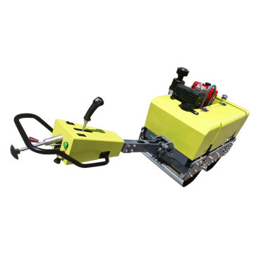 CE 700KG turn-able gasoline vibratory roller