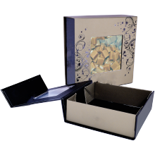 Offset Printing Recycled Folding Tea Packaging Box