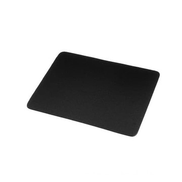 Frosted black polycarbonate sheet black mouse pad
