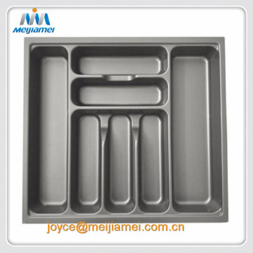 ABS PVC Plastic Cutlery Storage Kitchen Tray