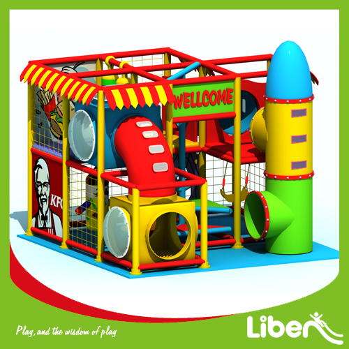 Preschool pupils indoor amusement playground