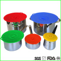 Colorful Keep Frsh Eco Silicone Tight Lids