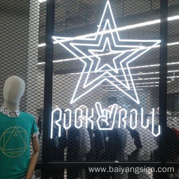 DC12V, customized led neon store sign in china