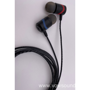 Sport In Ear Earphone Metal Wired Earphone