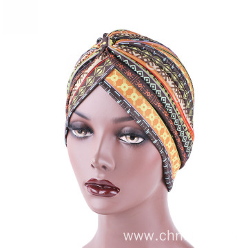 Cheap price hair accessories bandanas turban hat