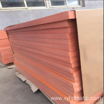 Standard Size Excellent Physical Orange Phenolic Resin Sheet