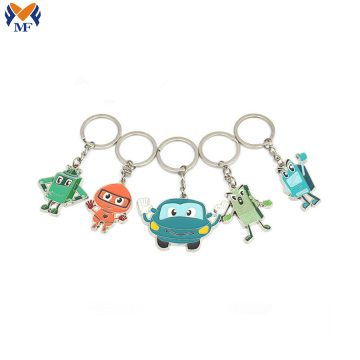 Wholesale key chain with custom logo keyring
