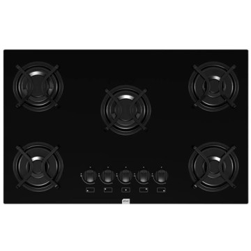 Stove 5 Burners Glass Table Brastemp