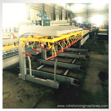 automatic roof machine stacker
