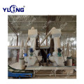 Rubber Wood Sawdust Pressing Pellet Making Machinery Line