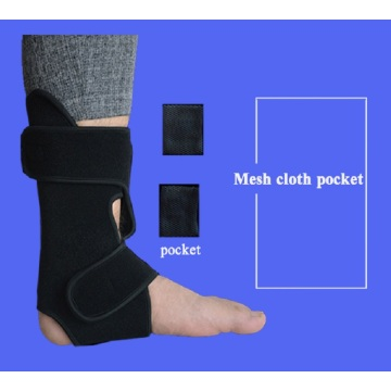 Transparent cheap ankle socks support brace sleeve