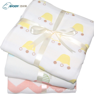 Super Soft Cotton quilt Comfortable Baby Multilayer Blanket