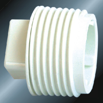 BS4346 Water Supply Upvc Male End Cap White