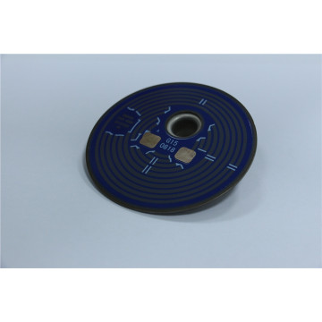 Customized direct current thick film heating element
