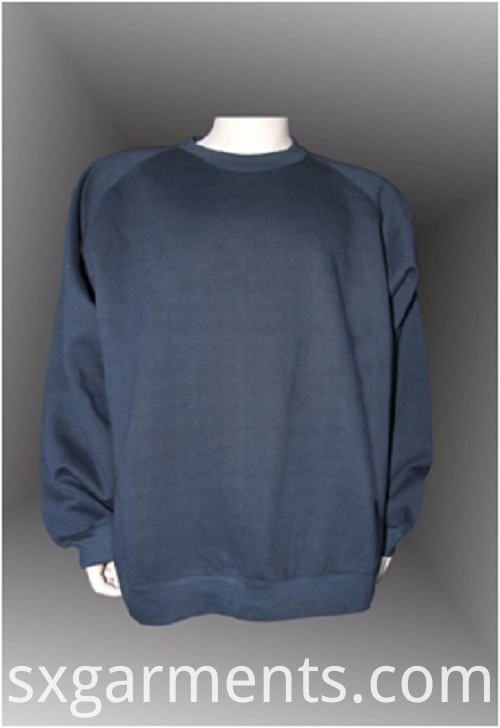 Mens CVC fleece top