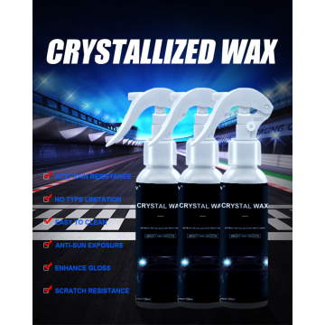 Cat Body Mobil Semprot Permukaan Crystal Wax Plating