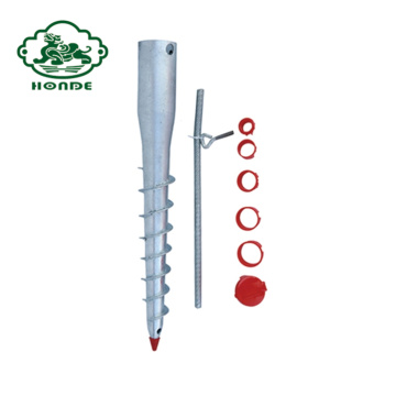 Pergola Screw Piles Foundation System