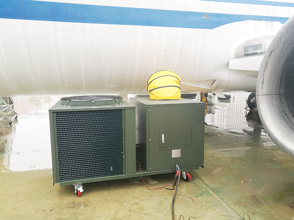 Air Craft Parking Air Conditioner