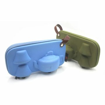 Waterproof hard eva protect case for tea sets