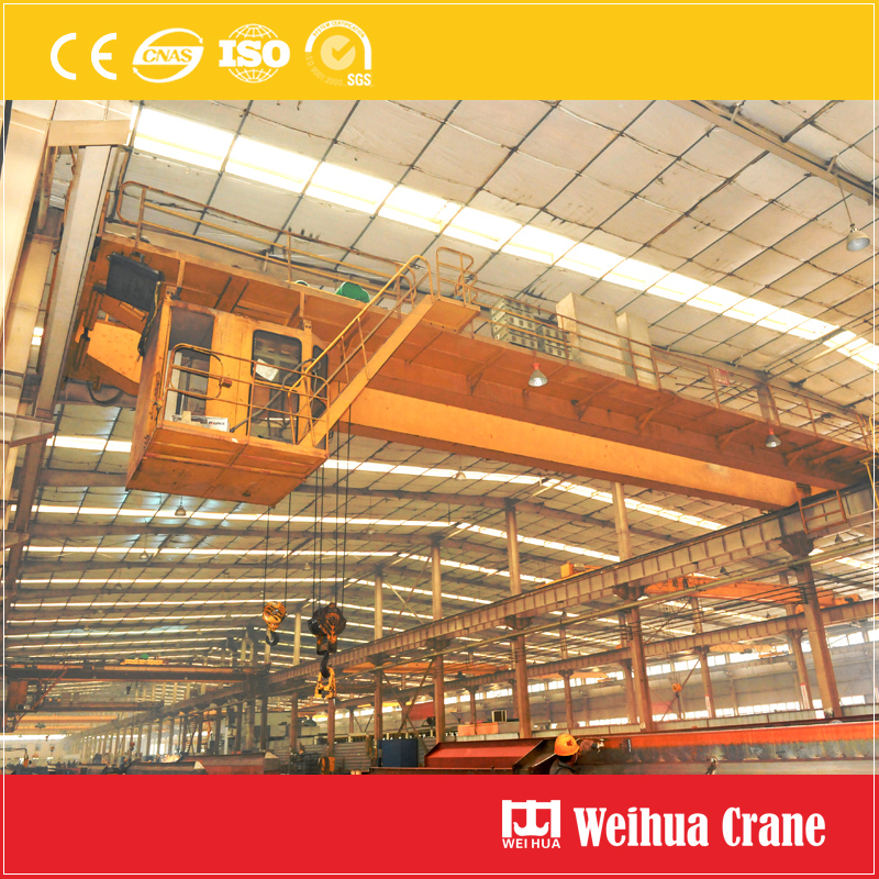 Overhead Crane With Crab Electric Hoists