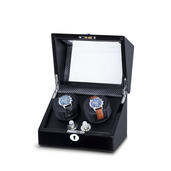 black watch winder with metal buttom