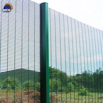 Hot dipped galvanized welded 358 anti climb fence