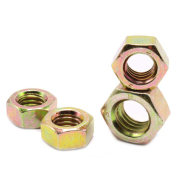 Left Thread Hexagon Thin Nuts Carbon