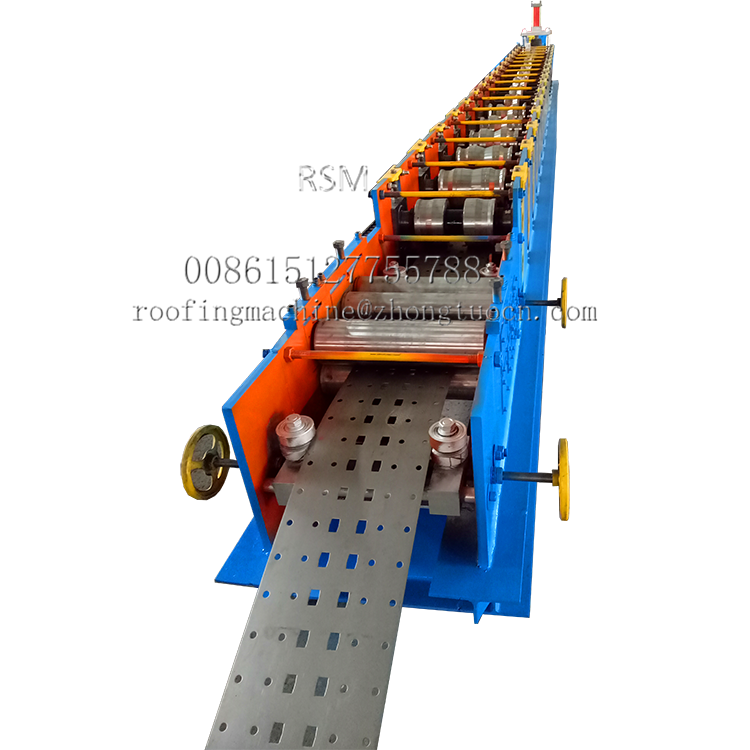 Warehouse Storage Rack Upright Roll Forming Machine