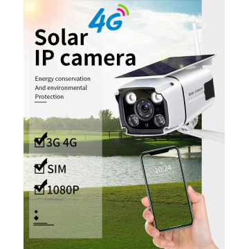 Solar Power 4G Security Camera 1080P IP Camera
