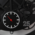 Metal Big Gear Wanduhr