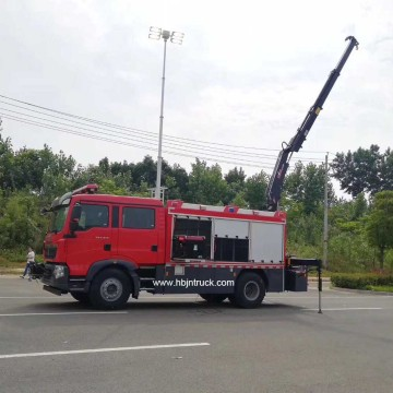 Howo Fire & Rescue Truck