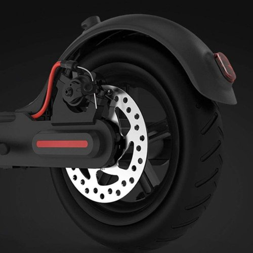Electric Kick Scooter With Large Wheels