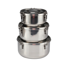 Stainless Steel Food Storage Containers 304