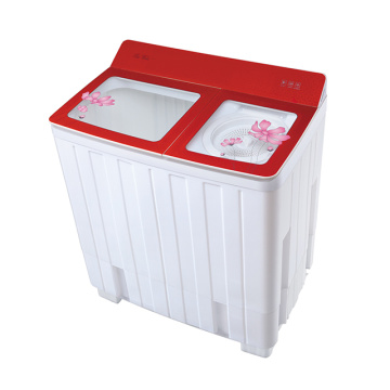 Transparent Glass Cover 12KG Twin Tub Washing Machine