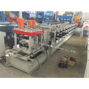 Automatic Quickly Change Size Z Purlin Machine