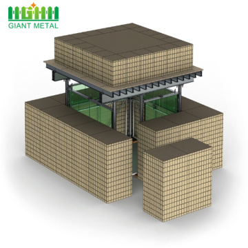 wholesale price assembled security barrier hesco