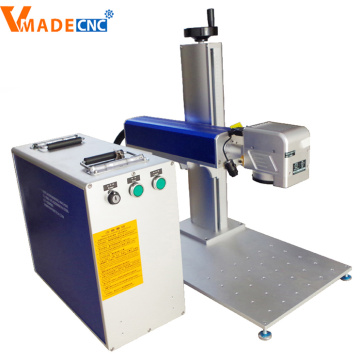 Mini Fiber Laser Marking Machine for Mental