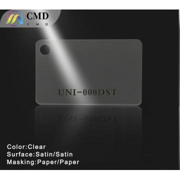 Acrylic Sheets Clear Double side Satin Paper Masking