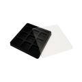 Candy Plastic Box Black Square Blister Pack Tray