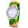 Original Design Girls Diamond Silicone Watches