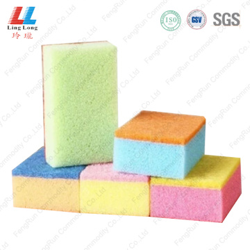 Special mixture sponge scouring pad