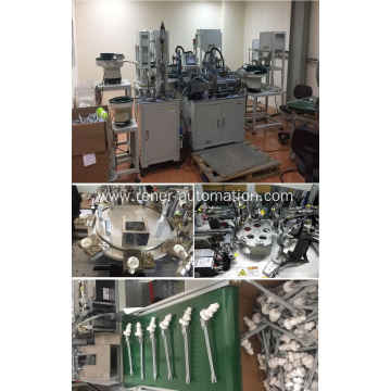 Industrial automation assembly line for Sanitary