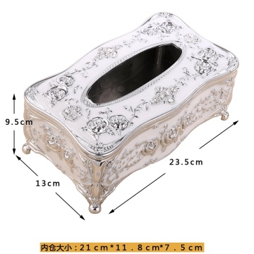 European-style Retro Tissue Box