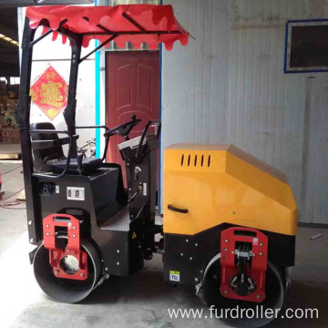 2 Ton Ride-on Road Roller Machine Construction For Sale FYL-900