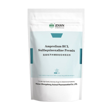 ZNSN Amprolium HCL and Sulfaquioxaline Sodium Soluble Powder