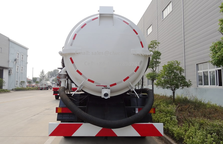 Wasted Water Suction Truck Price