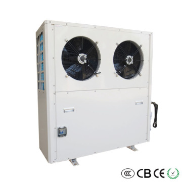 EVI 85C heat pump working at -25C