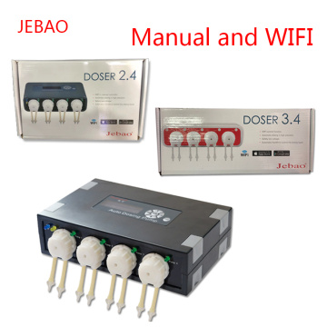 JEBAO DP2 DP3 DP4 DOSER2.4 DOSER3.4 Coral Cylinder Automatic Titration Pump Peristaltic Pump Auto Dosing Pump Timing added