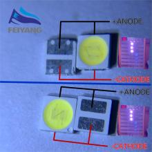 100pcs 3030 Backlight High Power LED DOUBLE CHIPS 1w 1.5W 2w 3V-3.6V 6v lextar JUFEI AOT Cool white PT30A66 TV