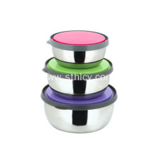 201 Stainless Steel Food Container Set for Lunch